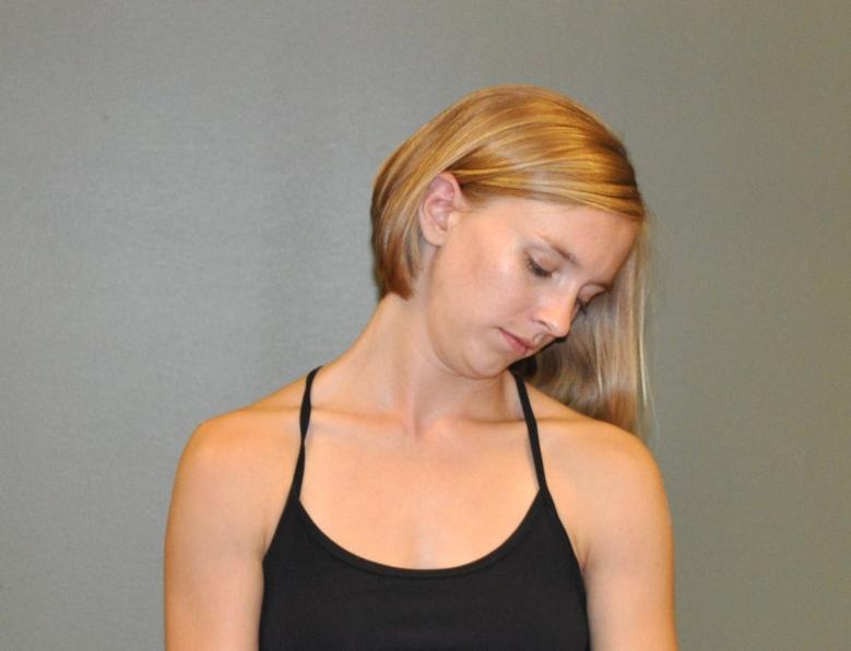 Upper trapezius stretchUpper Trapezius Stretch